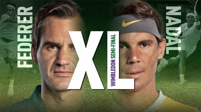 Lần gặp nhau thứ 41 Nadal đã thua 1-3. Ảnh 1-3.
