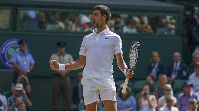 Nole bảo vệ thành công ngôi vương. Ảnh ATP