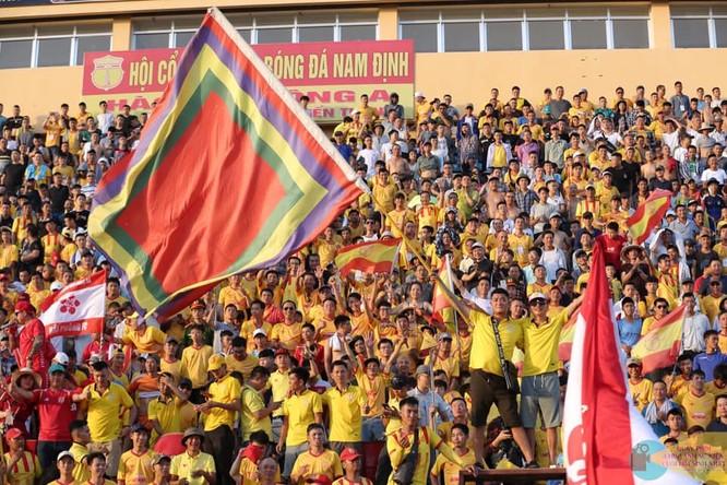 Sẽ có 20.000 khán giả đến sân Thiên Trường cỗ vũ đội nhà. Ảnh Hội CĐV Nam Định.
