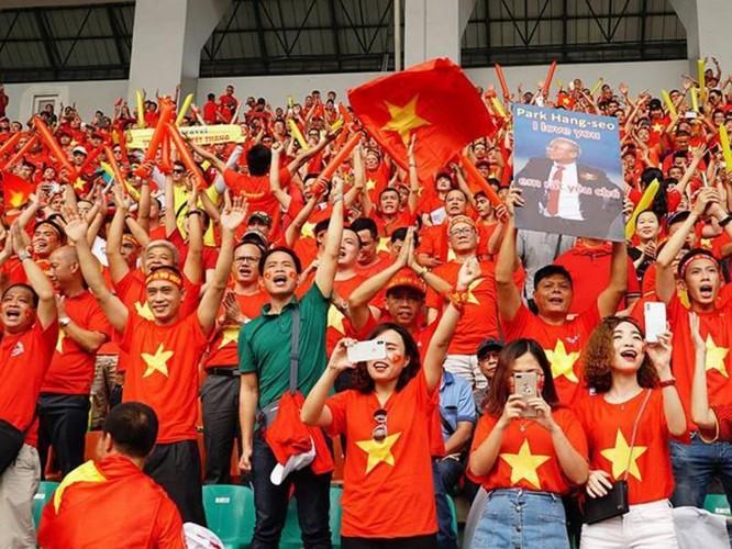 26 năm tham dự vòng loại World Cup, đây là lần đầu tiên đội tuyển Việt Nam gần với cơ hội có được tấm vé đi sâu nhất. Ảnh VietTimes.