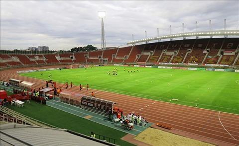 Thái Lan dùng sân vận động Thammasat để tổ chức trận cầu đinh này. Ảnh FAT.