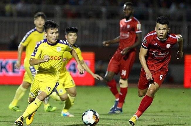 Quang Hải được bầu là cầu thủ xuất sắc nhất trận . Ảnh Zing