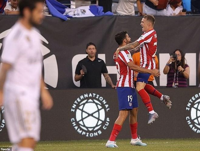 Atletico Madrid cho thấy họ sẽ là một thế lực đáng gờm ở cả La Liga lẫn Champions League ở mùa giải tới. Ảnh AP.