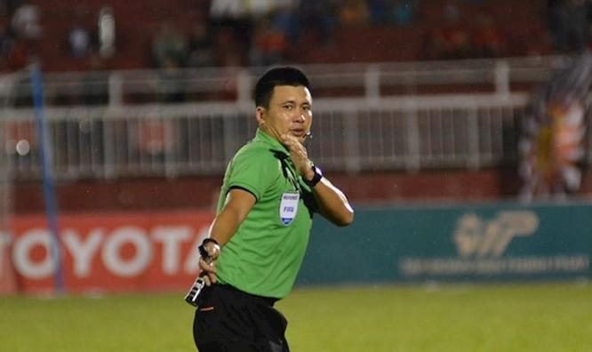 Trọng tài FIFA Hoàng Ngọc Hà