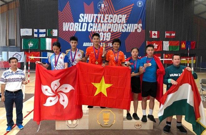 Việt Nam thắng áp đảo Trung Quốc tại giải vô địch đá cầu thế giới ảnh 1