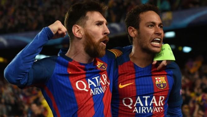 Giấc mớ CĐV xứ Catalonia về sự tái hợp giữa Neymar với Messi đã không thành. Ảnh CLB.