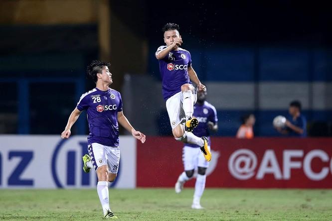 """Đến giờ, """"Messi Việt Nam"""" đã có 11 bàn thắng sau 44 lần ra sân ở mọi đấu trường một con số ấn tượng. Ảnh HNFC."""
