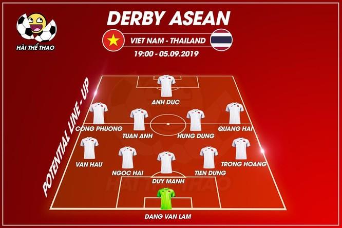 Đội hình dự kiến của Việt Nam. Ảnh VietTimes.
