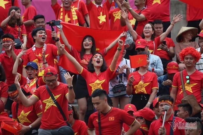 Khán giả VN hài lòng với kết quả hòa. Ảnh VNN.