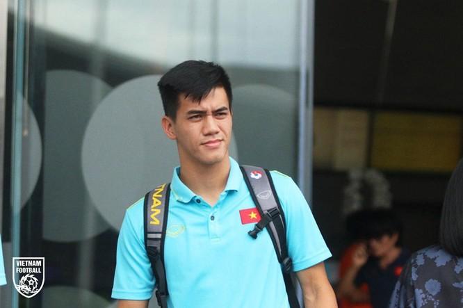 Tiến Linh được hứa hẹn là chân sút chủ lực của U22 Việt Nam để dành cúp vàng bóng đá nam tại SEA Games 30. Ảnh Vietfootball.