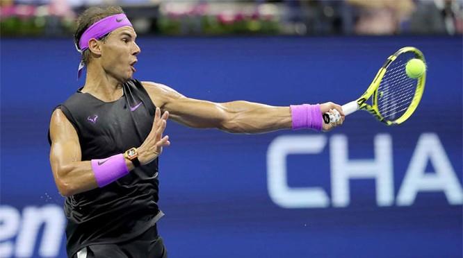 Đây là lần thứ 19, tay vợt 33 tuổi đăng quang một giải Grand Slam. Ảnh AP.