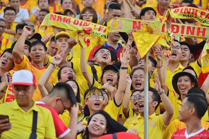 Sẽ có khoảng 3.000 cđv Nam Định có mặt ở sân Hàng Đẫy. Ảnh NĐFC