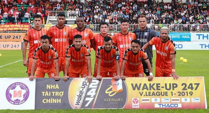 Đội bóng bên bờ sông Hàn khó để thoát khỏi trận thua thứ 8 trên sân khách mùa này. Ảnh VPF