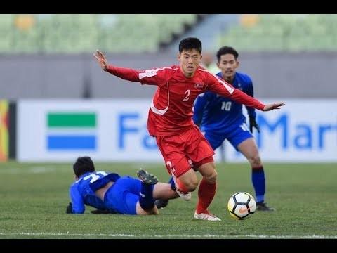 U23 Triều Tiên từng thắng U23 Thái Lan 1-0. Ảnh FAT