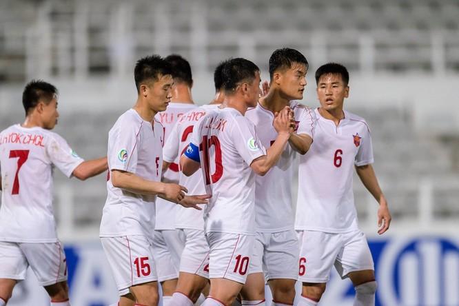 Có đến 7 cầu thủ trẻ April 25 khoác áo U23 Triều Tiên. Ảnh KTDT