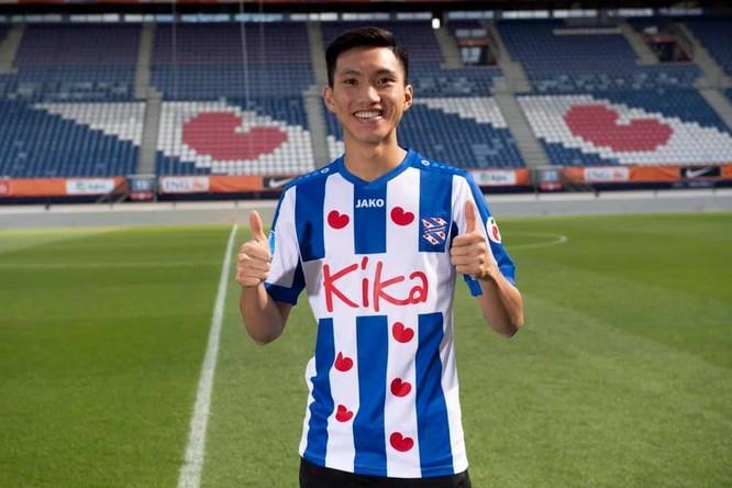 Sau khi được SC Heereveen tuyển dụng, hậu vệ Đoàn Văn Hậu vươn lên ở vị trí thứ 5 với mức định giá là 150.000 euro. Ảnh CLB
