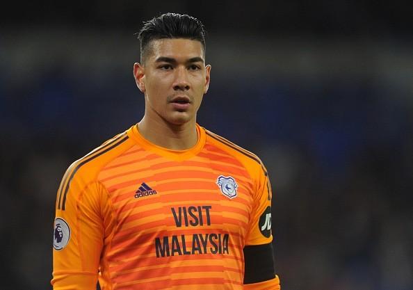 Cầu thủ đắt giá nhất trong 10 ngôi sao hàng đầu Đông Nam Á là thủ môn Neil Etheridge của Philippines với 7.2 triệu bảng. Ảnh AFC.
