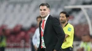 """HLV McMenemy lạc quan cho rằng: """"Sự phát triển của cầu thủ ngày càng tốt hơn, và đây rõ ràng là một nét tích cực trước trận gặp UAE"""" Ảnh AFC"""