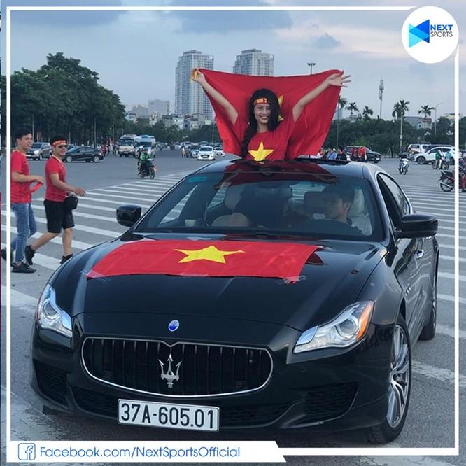 Khu vực Đông Nam Á, duy nhất CĐV Việt Nam được hưởng niềm vui. Ảnh NS.