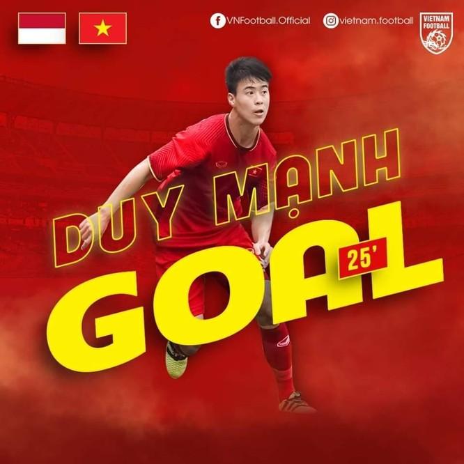 Mỗi trận đấu, ĐT Việt nam lại có phương án ghi bàn mới. Ảnh VF