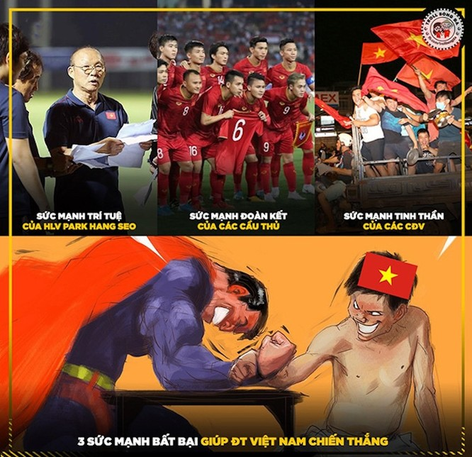 Sau 20 năm, chúng ta đã phá dớp thua chủ nhà ĐT Indonesia . Ảnh VF