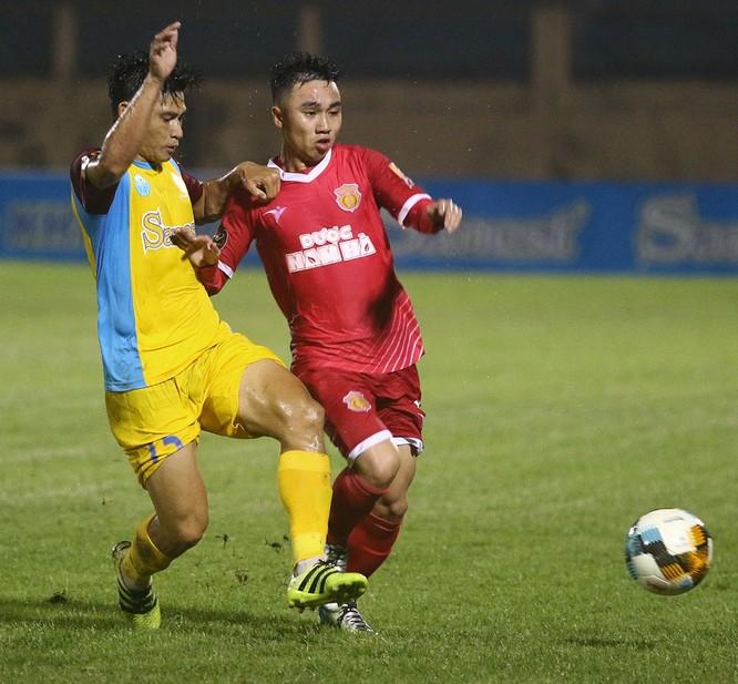 Nam Định sẽ kết thúc mùa giải trên sân Thiên Trường bằng một chiến thắng. Ảnh VPF