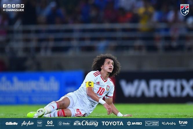 UAE vừa bại trận trước ĐT Thái Lan 1-2. Ảnh FAT