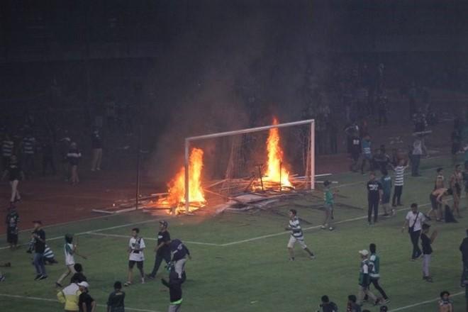 Những chuyện bạo loạn tại Giải vô địch Indonesia (Liga 1) hay những trận đấu của đội tuyển quốc gia là điều không lạ của xứ vạn đảo 1 thập kỷ qua. Ảnh AFC