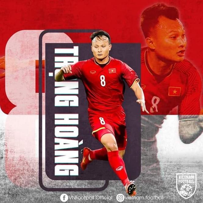 Chia tay SEA Games 30 nhưng những gì Trọng Hoàng cống hiến, chắc chắn cầu thủ này sẽ còn được ông Park Hang-seo tin dùng tại đội tuyển quốc gia. Ảnh VFF