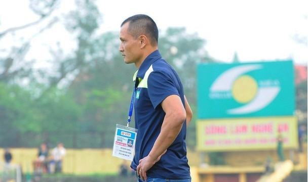 Có một SLNA mới tại V.League 2020 dưới thời HLV Ngô Quang Trường. Ảnh SLFC