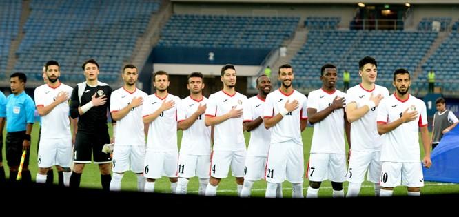 U23 Jordan cũng chơi với sơ đồ 3-4-3. Ảnh AFC