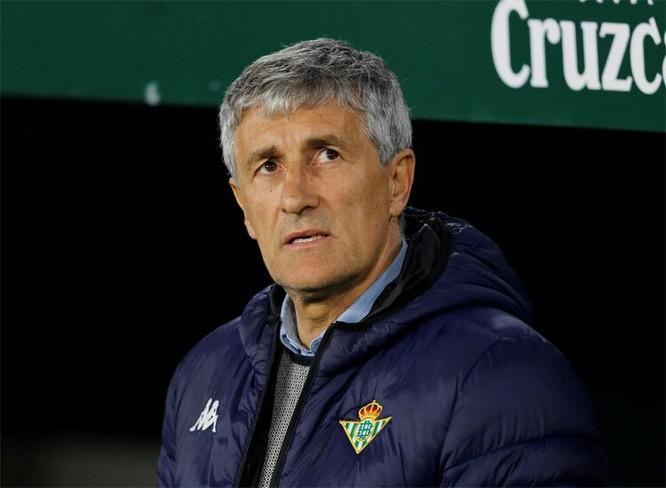Las Palmas và Betis dưới thời Setíen đều nằm trong top những đội đội kiểm soát bóng nhiều nhất giải. Ảnh Barca