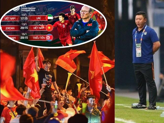 Trước hết ông Park và các học trò cứ phải nỗ lực để giành chiến thắng cách biệt 2 bàn trước U23 Triều Tiên. Ảnh AT