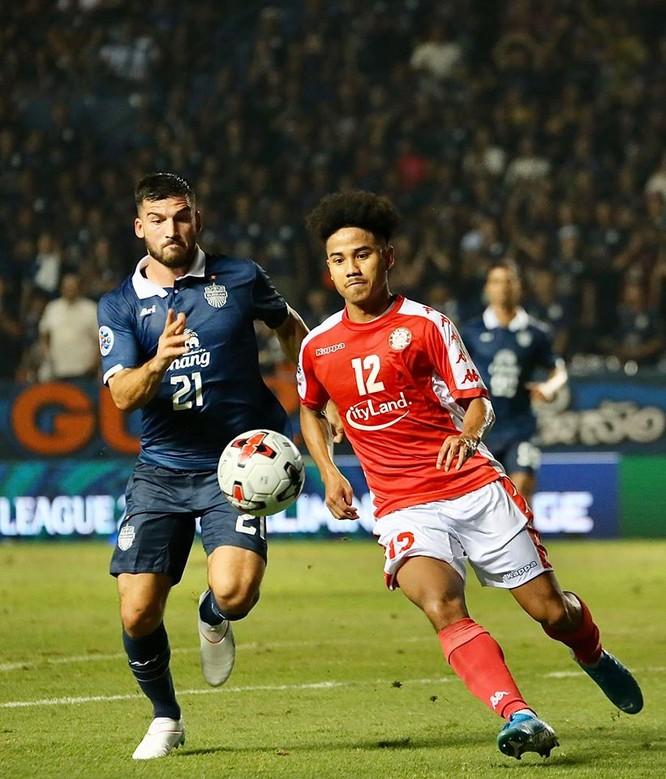 Đội chủ sân Chang Arena được coi là CLB mạnh nhất của Thái Lan trong nhiều năm trở lại đây, đã nhiều lần tham dự cúp AFC Champions League. Ảnh CLB