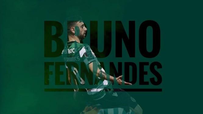 Tân binh Bruno Fernandes khoác áo số 18 của MU ảnh 1