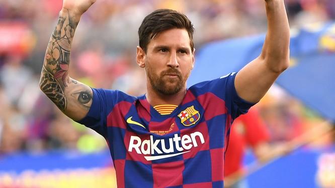 Messi là cầu thủ hơn 30 tuổi duy nhất góp mặt trong danh sách