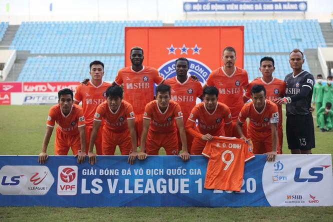 Thua trận HLV Lê Huỳnh Đức bày tỏ nỗi nhớ Hà Đức Chinh, cầu thủ mà mùa bóng qua chính ông lại không đánh giá cao. Ảnh VPF