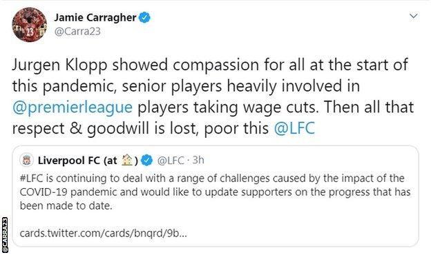 Dịch Covid: CLB Liverpool đang trong vòng xoáy chỉ trích ảnh 2