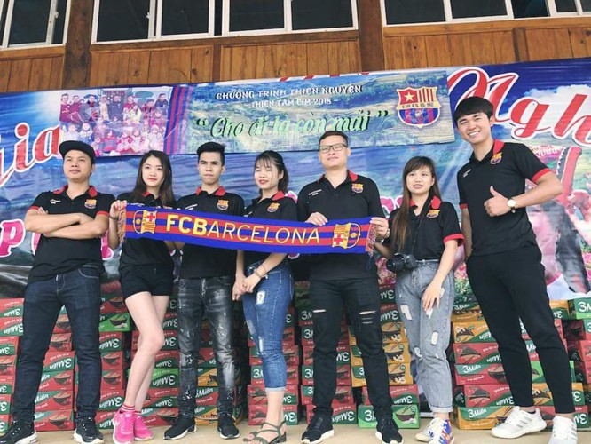 Barca chính thức công nhận hội cổ động viên Penya Blaugrana Hanoi ảnh 2