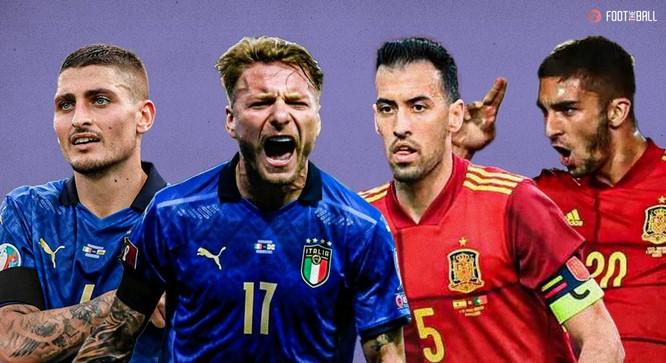 Tây Ban Nha- Ý: Những điểm nóng trên sân Wembley ảnh 1