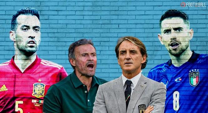 Tây Ban Nha- Ý: Những điểm nóng trên sân Wembley ảnh 3