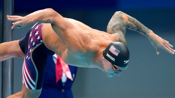 Caeleb Dressel: vận động viên ấn tượng nhất Olympic 2020 ảnh 1