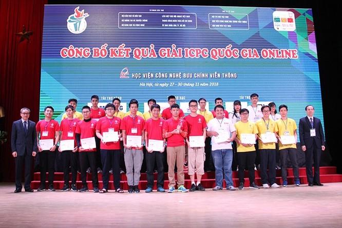 """Olympic tin học sinh viên trở thành """"sân chơi"""" nhận diện sớm tài năng CNTT-TT ảnh 1"""