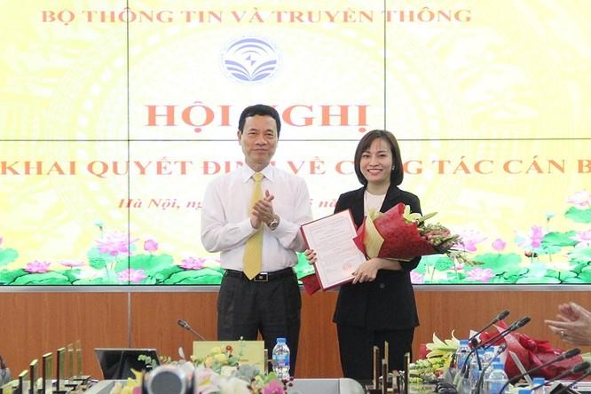 Bà Trần Thị Nhị Thủy được bổ nhiệm giữ chức Phó chánh thanh tra Bộ TT&TT ảnh 1