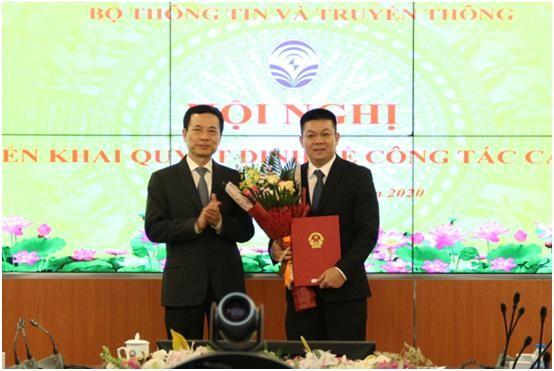 Ông Trần Duy Ninh được bổ nhiệm Cục trưởng Cục Bưu điện Trung ương ảnh 1