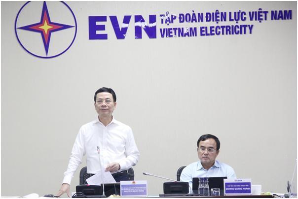 Bộ TT&TT cùng 50.000 DN công nghệ sẽ song hành cùng EVN trong chuyển đổi số ảnh 1