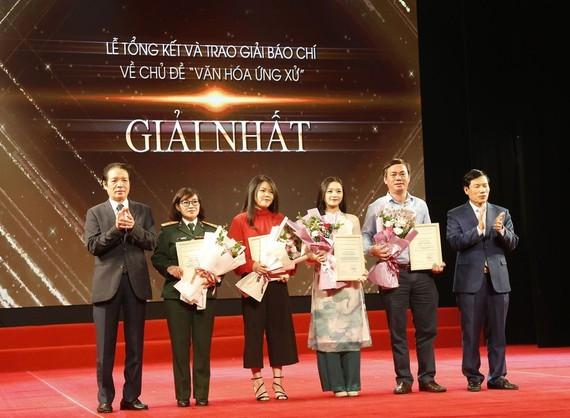 Có 37 tác phẩm xuất sắc đạt giải thưởng báo chí về văn hóa ứng xử ảnh 1