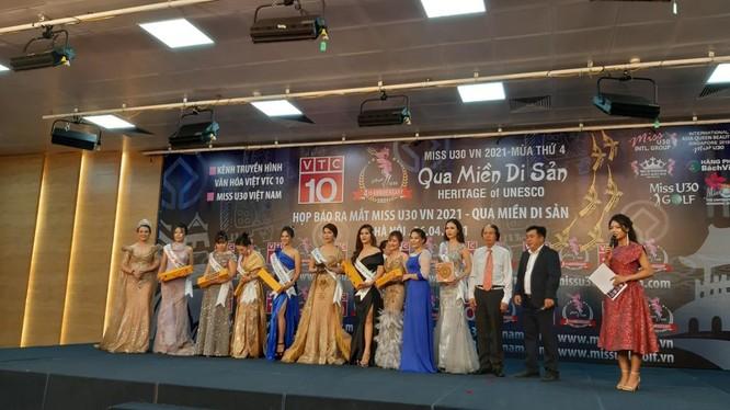 """Chương trình """" Miss U30 VN 2021 – Qua miền Di sản"""" là thương hiệu nhan sắc ảnh 1"""