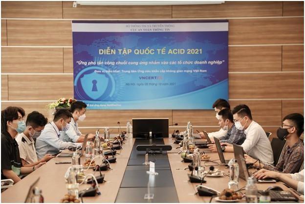 ACID 2021: Diễn tập ứng phó tấn công chuỗi cung ứng nhắm vào các tổ chức, doanh nghiệp ảnh 1