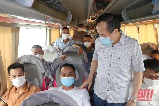 Thanh Hóa: Đoàn cán bộ y tế (thứ 7) lên đường vào Nam! ảnh 2